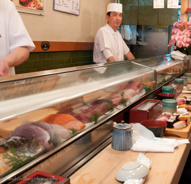 Over-the-(sushi)-counter