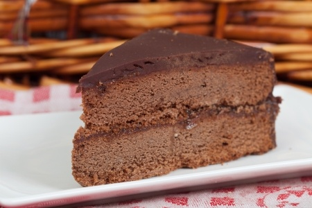 Torte - Image credit: <a href='http://www.123rf.com/photo_13722428_delicious-slice-of-home-made-sachertorte-cake.html'>digitalsun / 123RF Stock Photo</a>